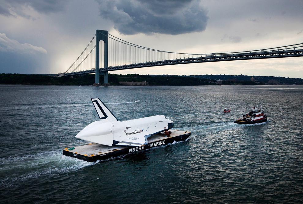 Navette spatiale pont