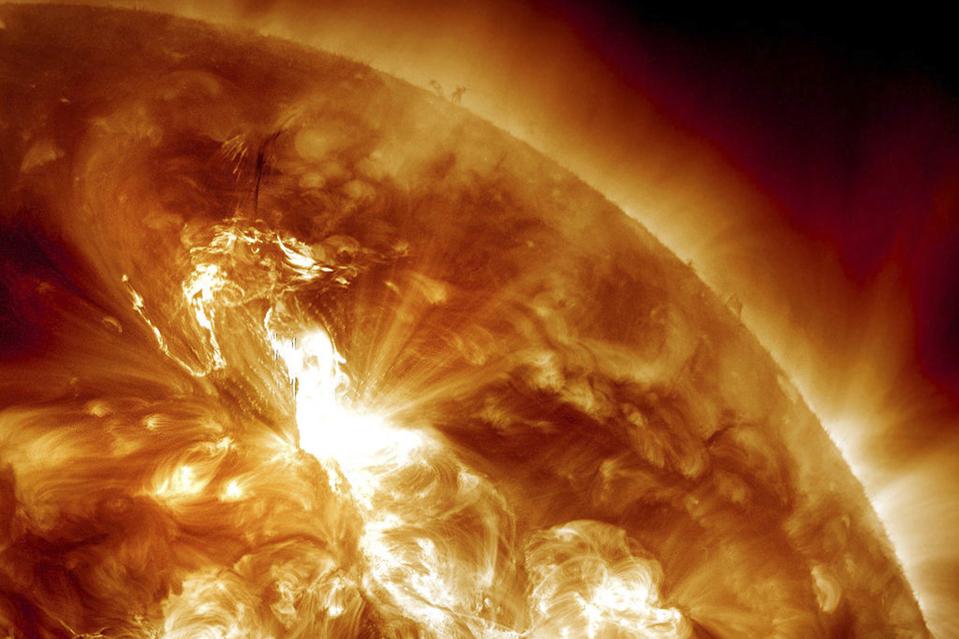 Erruption solaire