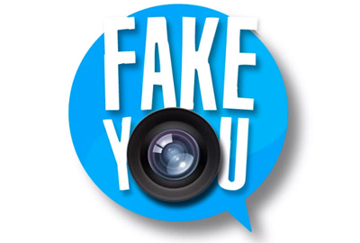 Fake you logo