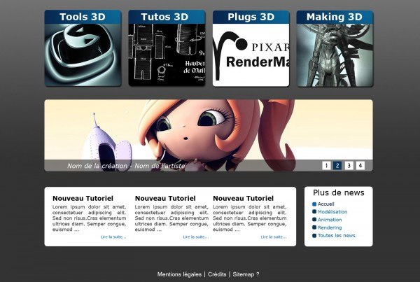 E-learning 3ds max